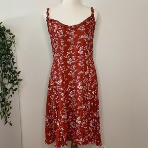 Silver Wishes Size 14 Floral Dress